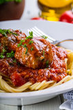 Meat balls. Italian and Mediterranean cuisine. Meat balls  Stock Image