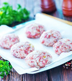 Meat balls Stock Photos