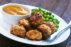 Meat balls Royalty Free Stock Photography