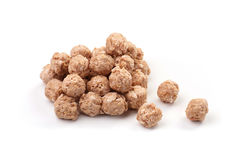 Meat-balls on a white background Royalty Free Stock Photography