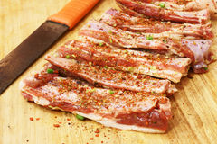 Meat for barbecue Stock Photo
