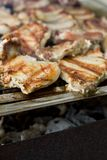 Meat barbecue, shallow DOF Stock Photography