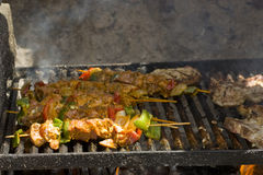 Meat barbeque Stock Image