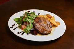 Meat bbq steak Stock Photo