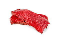 Meat beef slices Stock Images
