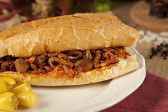 Meat beef tantuni is a kind of traditional turkish kebap Royalty Free Stock Image