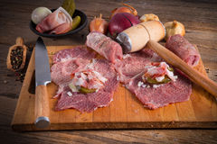Meat beefs olive Stock Photography