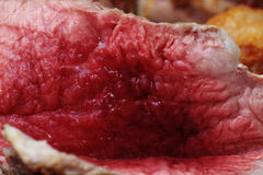 Meat with blood Royalty Free Stock Photos