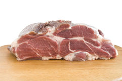 Meat on the board Royalty Free Stock Photos
