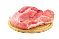 Meat on the board Royalty Free Stock Images