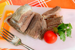 Meat for broth Royalty Free Stock Images