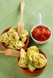 Meat Cappelletti Royalty Free Stock Images