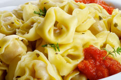Meat Cappelletti Royalty Free Stock Photography