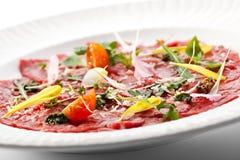 Meat Carpaccio Royalty Free Stock Photo