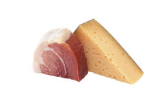 Meat And Cheese Royalty Free Stock Photo