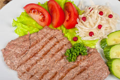 Meat chop Stock Images