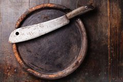 Meat cleaver Stock Image