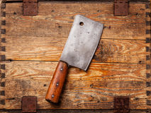 Meat cleaver Stock Photo