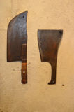 Meat Cleavers Royalty Free Stock Photos