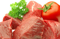 Meat close up Stock Photos