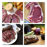 Meat collage Stock Photography