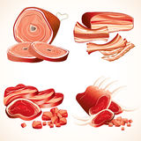 Meat collection Stock Images