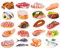 Meat collection Royalty Free Stock Photography