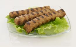 Meat collection of kebabcheta  Stock Image
