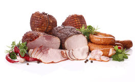 Meat composition Royalty Free Stock Image