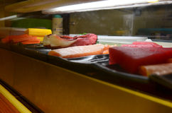 Meat for cooking Japanese cuisine Sushi Stock Photos