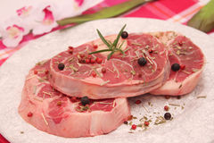Meat for cooking a soup Stock Photo