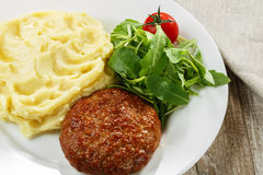 Meat cutlet Stock Images