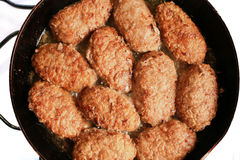 Meat cutlets Royalty Free Stock Image