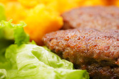 Meat cutlets Royalty Free Stock Photography