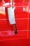 Meat cutter Royalty Free Stock Image