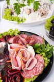 Meat delicacies. Stock Image