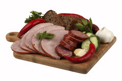 Meat delicacies Stock Photography
