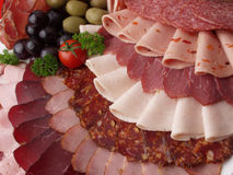 Meat delicatessen stock photo