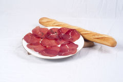Meat delicatessen Royalty Free Stock Photography