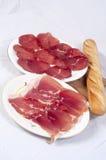 Meat delicatessen Stock Photos