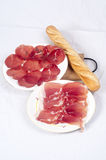 Meat delicatessen Royalty Free Stock Photos