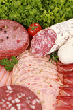 Meat Delicatessen Plate Stock Photos