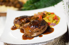 Meat dish Stock Photography