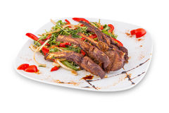Meat dish. Royalty Free Stock Images