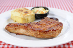 Meat dish stock photo