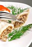 Meat dumplings royalty free stock images
