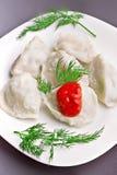 Meat dumplings Stock Photography
