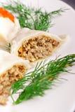 Meat dumplings Stock Photo
