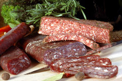meat för 2 livstid fortfarande Arkivfoto