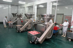 Free Meat Factory Royalty Free Stock Photography - 34032577